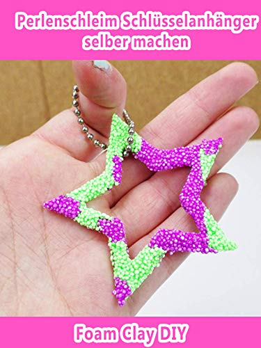 Clip: Perlenschleim Schlüsselanhänger selber machen - Foam Clay DIY
