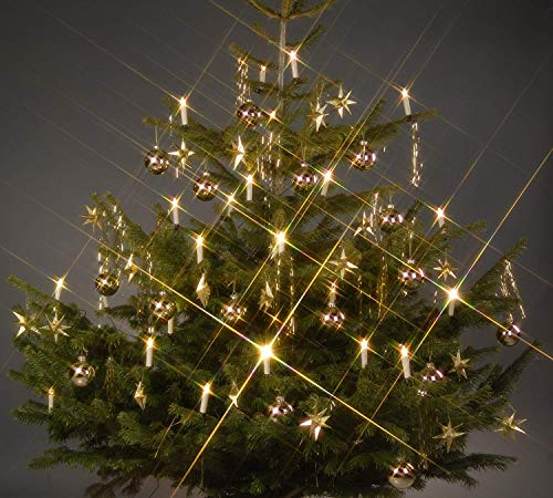 TG340146 24 LED Weihnachtskerzen Kerzen Weihnachtslichter Beleuchtung Christbaumbeleuchtung Trango