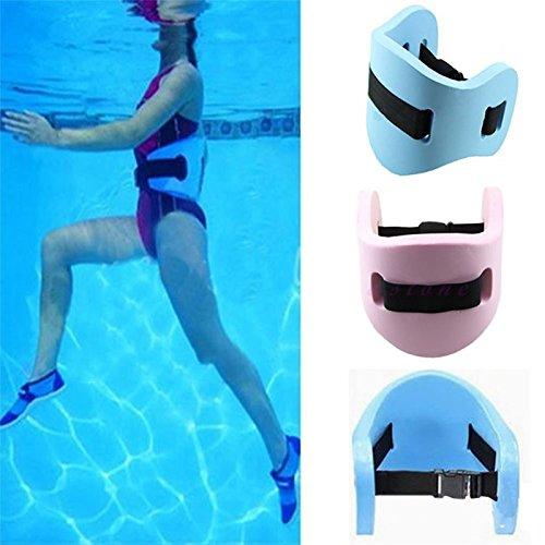 Idealplast Swim Floating Belt Learn to Swim Children Adult Safety Swimming Leaning Training Float EVA Belt Waistband (Pink)