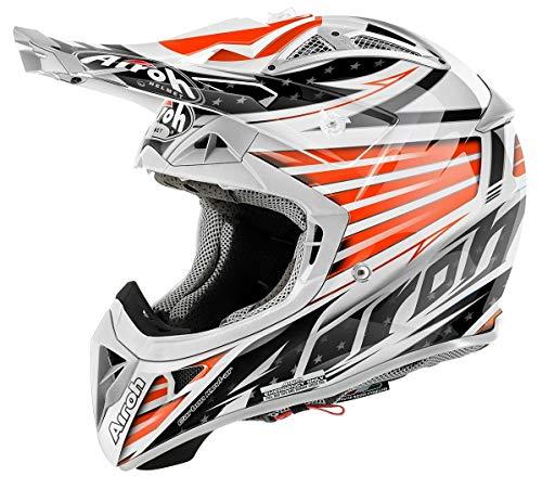 Airoh Aviator 2.1 Valor Motocross Helm XS (53/54) Orange/Schwarz