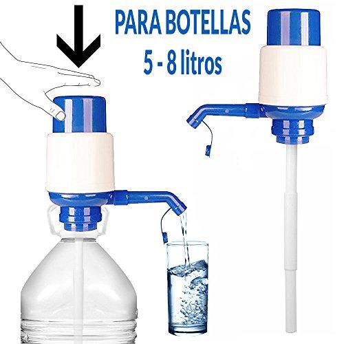 DISPENSADOR BOMBA AGUA UNIVERSAL BOTELLA GARRAFA 5L, 8L, 10L
