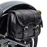 Alforja Vintage para Moto Guzzi V7 II Stone/Stornello Craftride SV1 Negro
