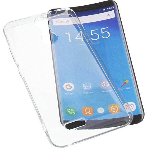 foto-kontor Tasche für Oukitel C8 Gummi TPU Schutz Handytasche transparent