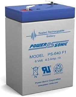 Power Sonic 6V 4.5Amp SLA Battery