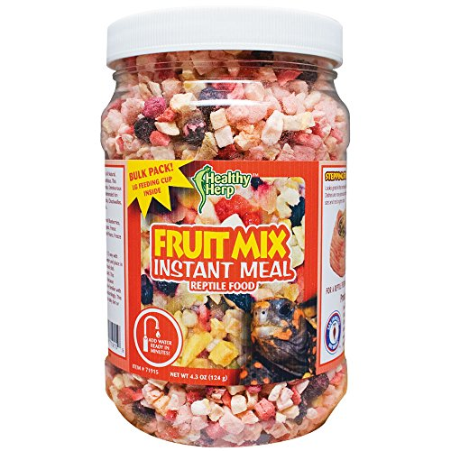 Healthy Herp Fruit Mix Instant Meal 3.5-Ounce (99.23 Grams) Jar