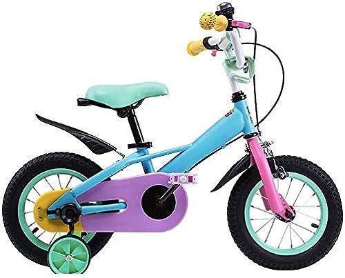 Axdwfd Kinderfürr r Kinderfürr r fürrad-Trainingsrad 12 14 16   18inch Jungen und mädchen Radfüren Geeignet für Kinder im Alter von 2-9