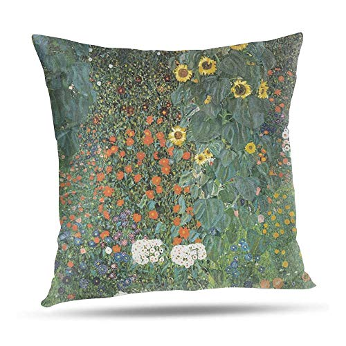YuAPiNY 50x50 cm Cushion cases, THE SUNFLOWER Pattern print Cushion Cover Festive Holidays Pillowcase Decors Valentine Gifts 20x20 Inch YuA'006