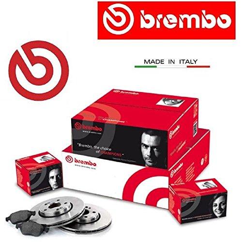 09977210 Dischi freno + pastiglie Brembo anteriori...