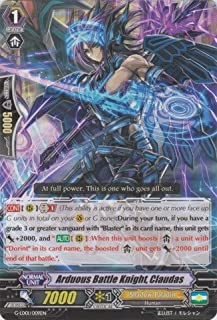 Cardfight!! Vanguard TCG - Arduous Battle Knight, Claudas (G-LD01/009EN) - G Legend Deck 1: The Dark