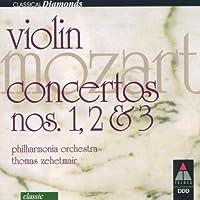 【輸入盤】MOZART:VIOLIN CONCERTOS NOS.1,2&3