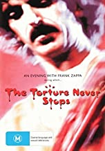 An Evening with Frank Zappa during which The Torture Never Stops DVD