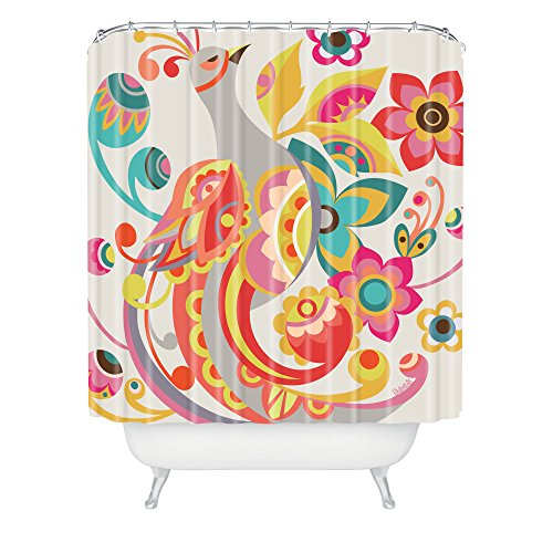 DENY Designs Valentina Ramos Unwavering Avis Duschvorhang, 69 x 183 cm