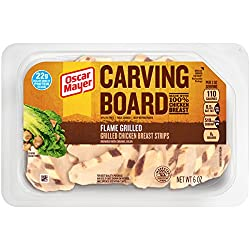 Oscar Mayer Carving Board Grilled Chicken Strips (6 oz Package)