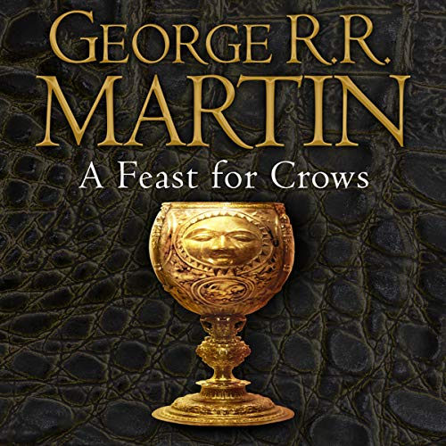 A Feast for Crows     Book 4 of A Song of Ice and Fire              Autor:                                                                                                                                 George R. R. Martin                               Sprecher:                                                                                                                                 Roy Dotrice                      Spieldauer: 33 Std. und 50 Min.     70 Bewertungen     Gesamt 4,4