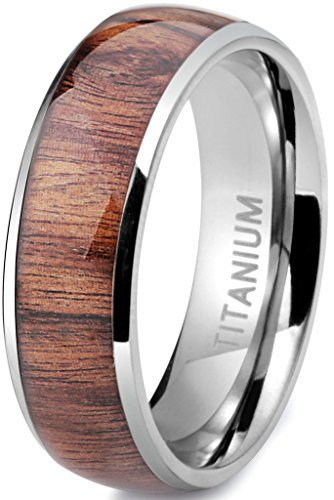 Wooden ring 5th anniversary gift idea for him