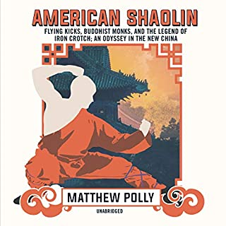 American Shaolin audiobook cover art