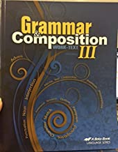 Best abeka grammar and composition iii Reviews