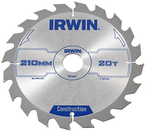 Irwin - Disco sierra circular 210mm/20t