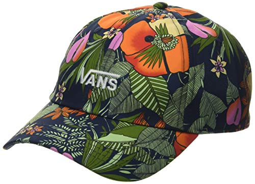 Vans Damen Court Side Printed Hat Baseball Cap, Mehrfarbig (Multi Tropic Dress Blues W14), One Size (Herstellergröße: OS)