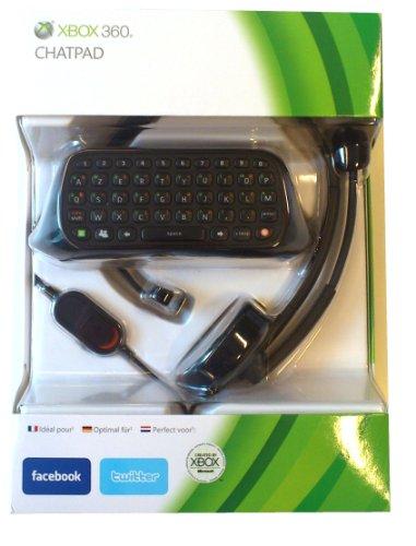 Microsoft Xbox 360 Chatpad, DUT, FRE, DEU - accesorios de juegos de pc (DUT, FRE, DEU, Negro)