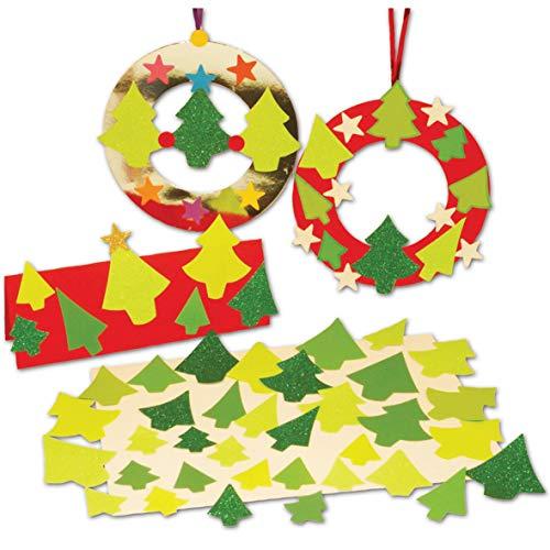 Springboard Pre-Cut Mini Papier Kerstbomen (Pack van 300)