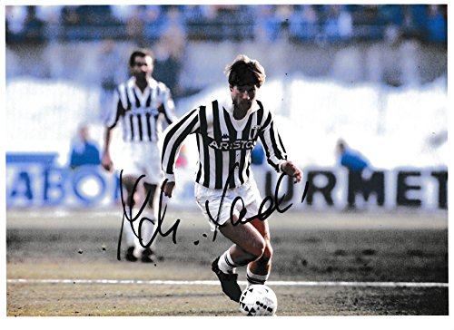 Football – Michael laudrup authentique Signé Autographe modèle COA # 4
