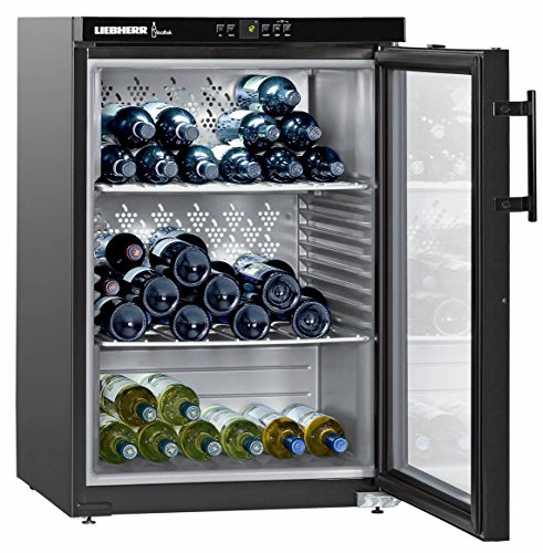 Liebherr WKb 1812 Vinothek cantina vino Libera installazione Nero 66 bottiglia/bottiglie Cantinetta vino con compressore A+
