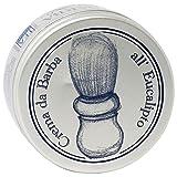 TEA NATURA - Crema da Barba all'Eucalipto - Nutriente e Rinfrescante - Ideale per la Rasatura Quotidiana - Vegan - 100 ml