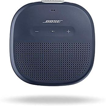 Bose SoundLink Micro  Small Portable Bluetooth Speaker  Waterproof  Midnight Blue