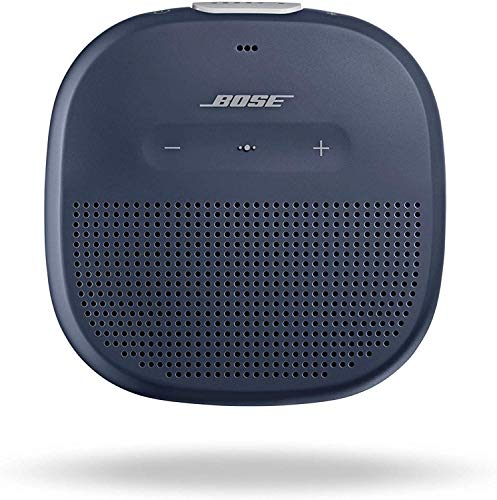 Bose SoundLink Micro: Small Portable Bluetooth Speaker (Waterproof), Midnight Blue