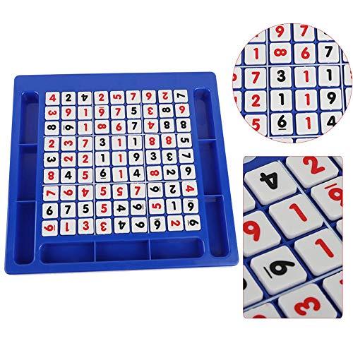 Alomejor Sudoku Brettspiel Sudoku Chess Digits 1 bis 9 Desktop-Spiele für Kinder und Erwachsene