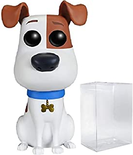Funko POP Movies: The Secret Life of Pets - Max Vinyl Figure (Includes Compatible Pop Box Protector Case)