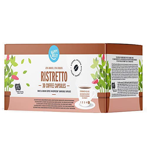 Marque Amazon - Happy Belly Ristretto Café UTZ...