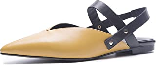 Pointed Toe Low Heel Women Sandals Casual Fashion Rivet Metal Sandals Women Shoes Sandales