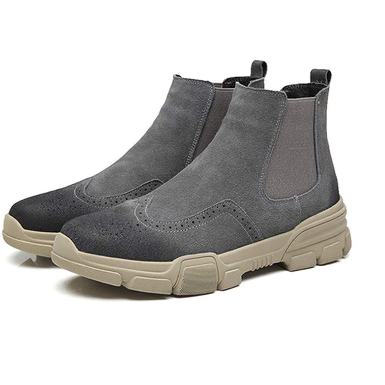 パラシュートビルダーフライカイトマーティンブーツ ショートブーツ メンズ 本革 ハイカット サイドゴアブーツ 黒 ブラック ベージュ グレー 防滑 衝撃吸収 ラウンドトゥ ワークブーツ アウトドア カジュアル メンズ靴 大きいサイズ