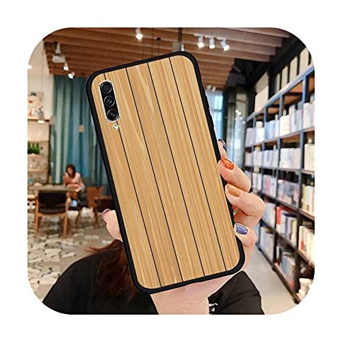 moda de madera moda teléfono caso para Samsung A20 A30 30s A40 A7 2018 J2 J7 prime J4 Plus S5 Note 9 10 Plus cubierta funda-a5-Samsung J4 plus