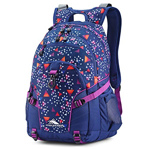 High Sierra Loop Backpack, Compact & Stylish Bookbag Perfect for Students, Office, or Travel