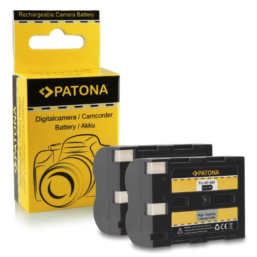 Pila reemplazo NP-400 bateria de Repuesto subtel/® Bater/ía Premium Compatible con Konica Minolta Dynax 5D Dynax 7D DiMAGE A2 DiMAGE A1 Maxxum 7D Maxxum 5D 1500mAh sustituci/ón