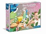 Clementoni 59188 Galileo Science – Bio-Kosmetik, Herstellung von biologischer Schönheitspflege, Shampoo, Cremes, Seifen & Peelings selbermachen, Spielzeug für Kinder ab 8 Jahren