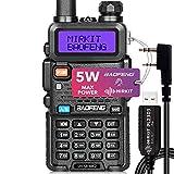 Best Baofeng Radio Scanners - Baofeng UV-5R MK2 FCC Approved 5 Watt 2021 Review