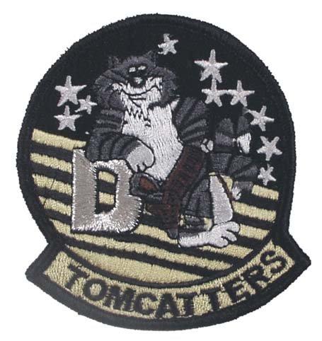Insigne 'VF-31 TOMMCATTERS' , Motive:Motiv_4