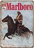 Marlboro Man Tobacco Cigarette Cowboy Blechschilder Vintage
