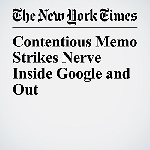 Contentious Memo Strikes Nerve Inside Google and Out copertina