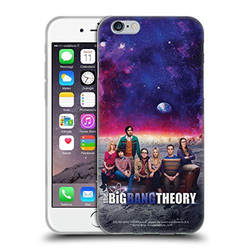 Head Case Designs Ufficiale The Big Bang Theory Stagione 11 A Arte Chiave Cover in Morbido Gel Compatibile con Apple iPhone 6 / iPhone 6s