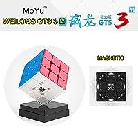 MoYu WeiLong GTS 3M gts3m マジックスピードキューブ+ 1つのキューブバッグと1つのキューブスタンド