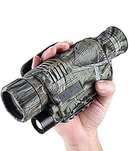 N/Z Home Equipment IR Night Vision 5x40 Zoom Portable Infrared Hunting Camera Goggles Monocular IR 8GB Hunting Scope IR Digital Telescope Telescope