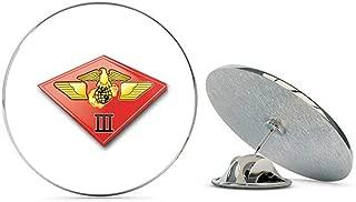 USMC US Marine Corps 3rd Marine Air Wing Steel Metal 0.75