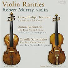 Violin Rarities by Raven Records