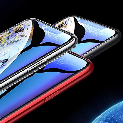 CQBKLXJY Vidrio Templado de privacidad Total 9H Compatible con iPhone 11 Pro XS MAX XR 6 6S 7 8 Plus X Protector de Pantalla antiespía de Alta definición 11 Pro Film_iPhone_11 [Paquete de 3]