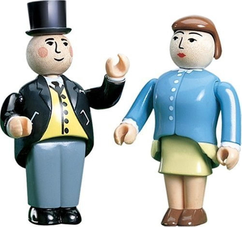 Sir Topham & Lady Hatt Figurines - Thomas Tank Engine Wooden Railway by Thomas & Friends